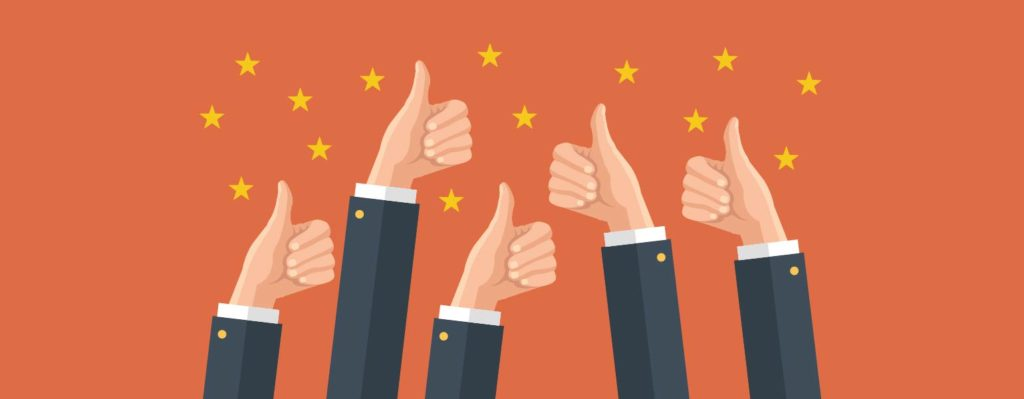 Thumbs Up for Top 10 Review Sites